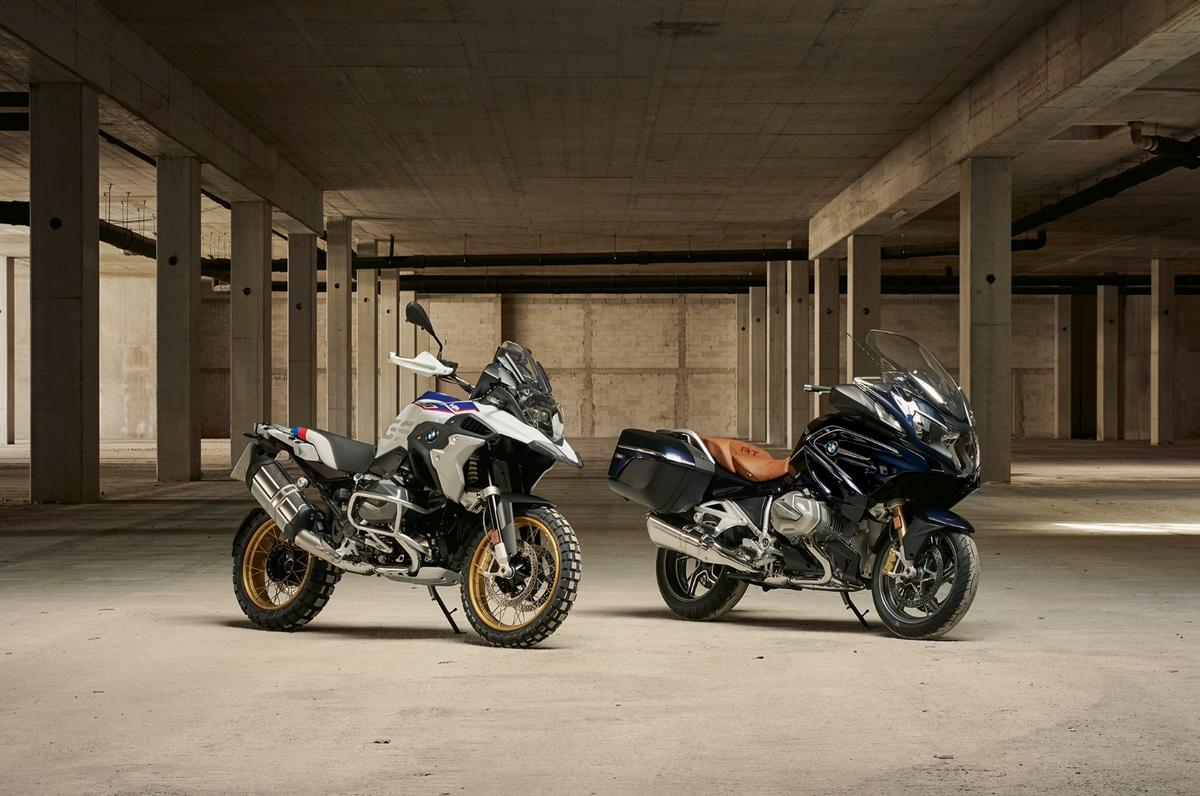 The 2019BMWR1250 GS and RT will be the first motorcycles to feature the new ShiftCam-equipped boxer motor