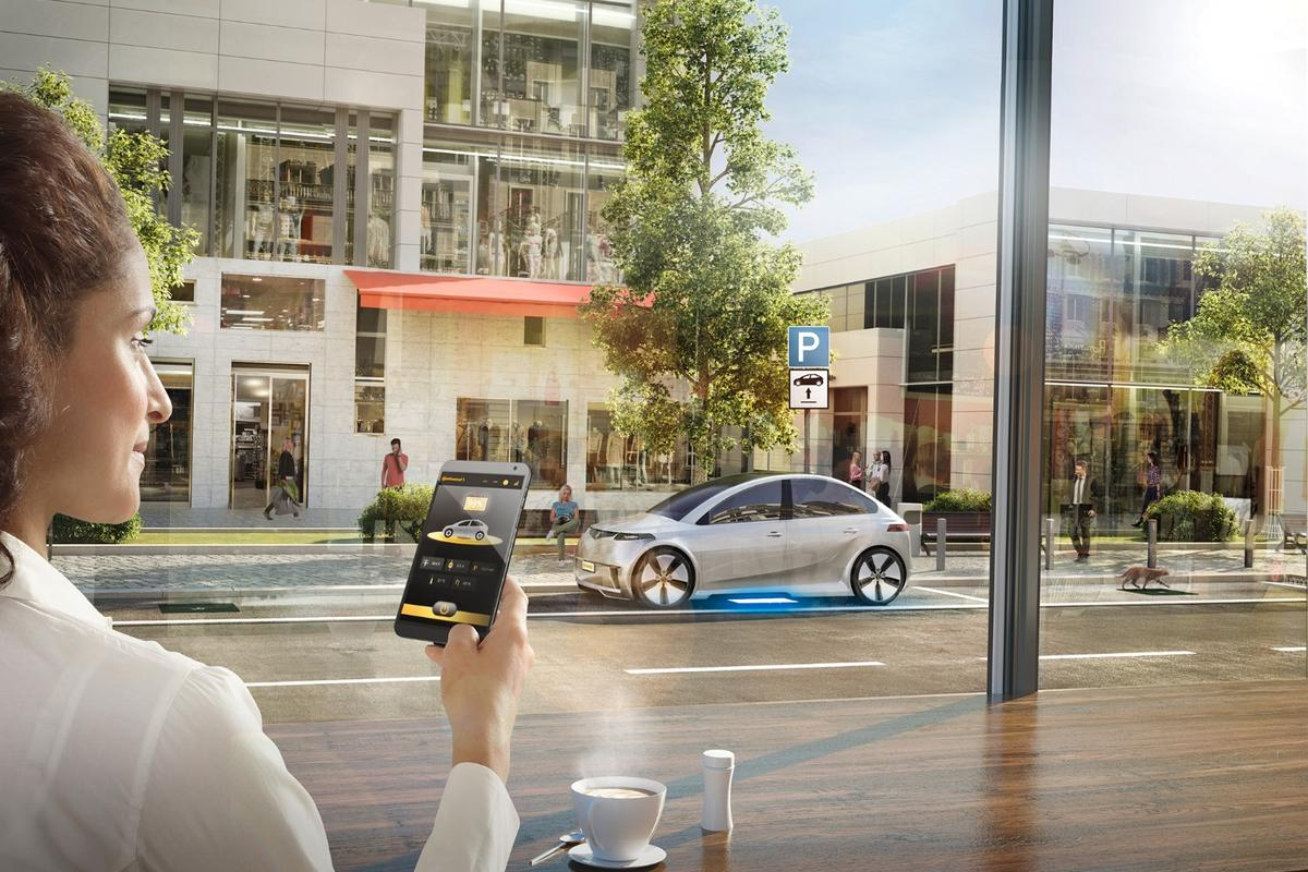 Continental will be showing off an early version of its inductive charging system at CES in Las Vegas next month