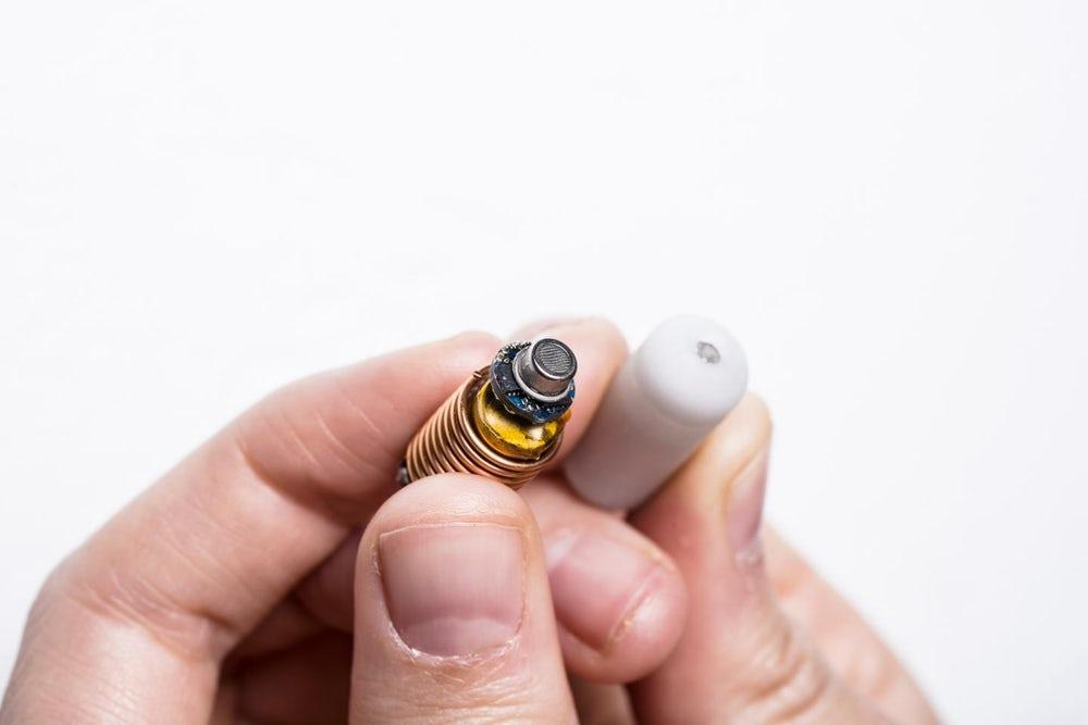 The gas-sensing capsule, developed at Melbourne's RMIT