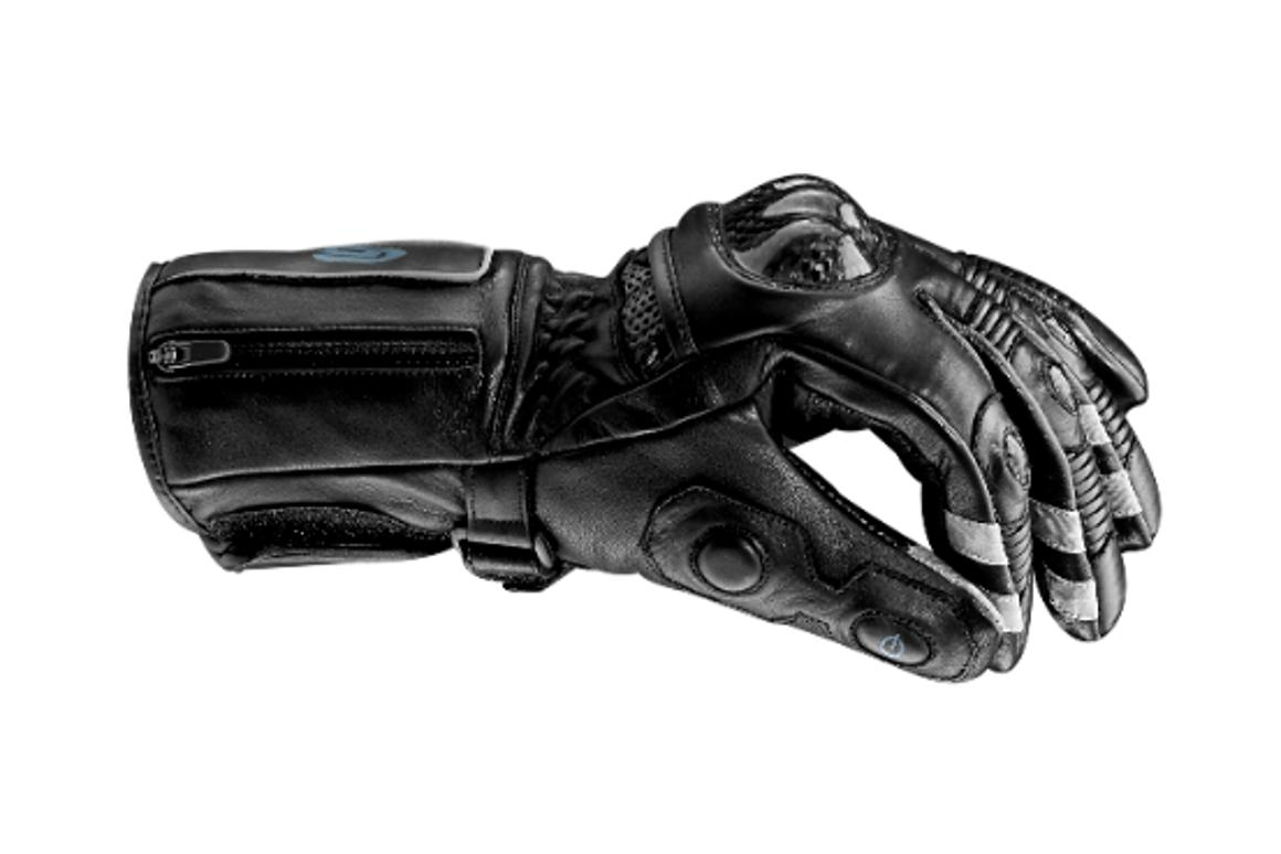 BearTek Motorcycle glove with reinforced carbon fiber knuckles and fingers
