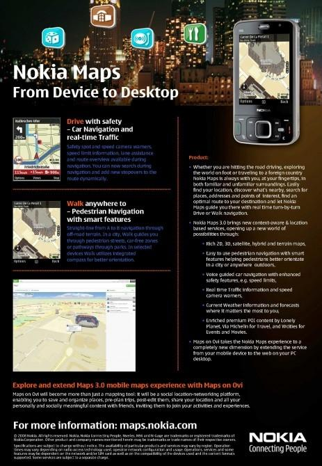 Nokia Maps plans mobile assault on Google Maps