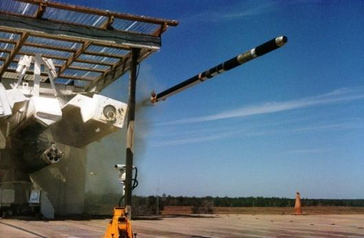 In ballistic test vehicle flights, DAGR proved its seeker function and performance.