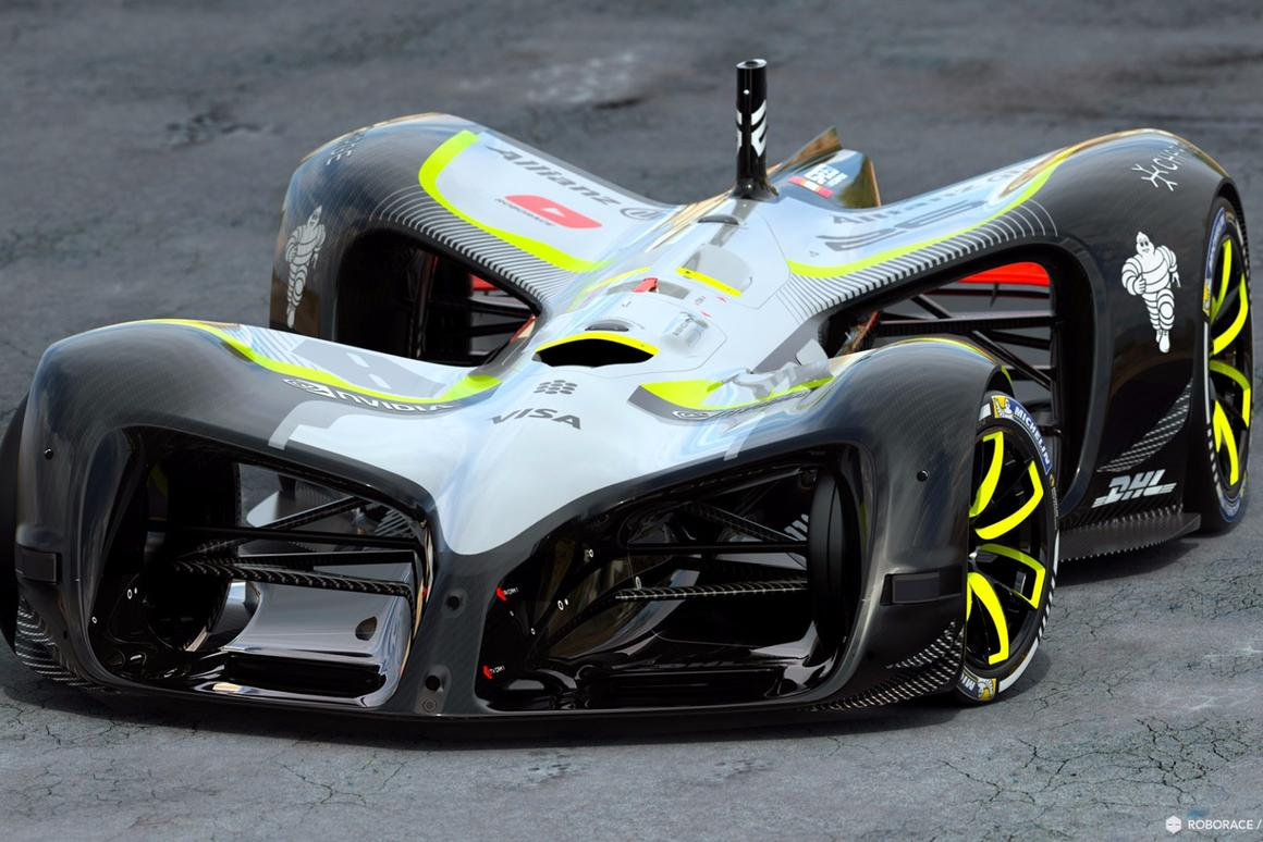 The new Roborace Robocar