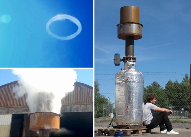 BIG and its collaborators have already produced two smaller scale prototypes of the steam ring generator, and want more money to help fund another penultimate prototype