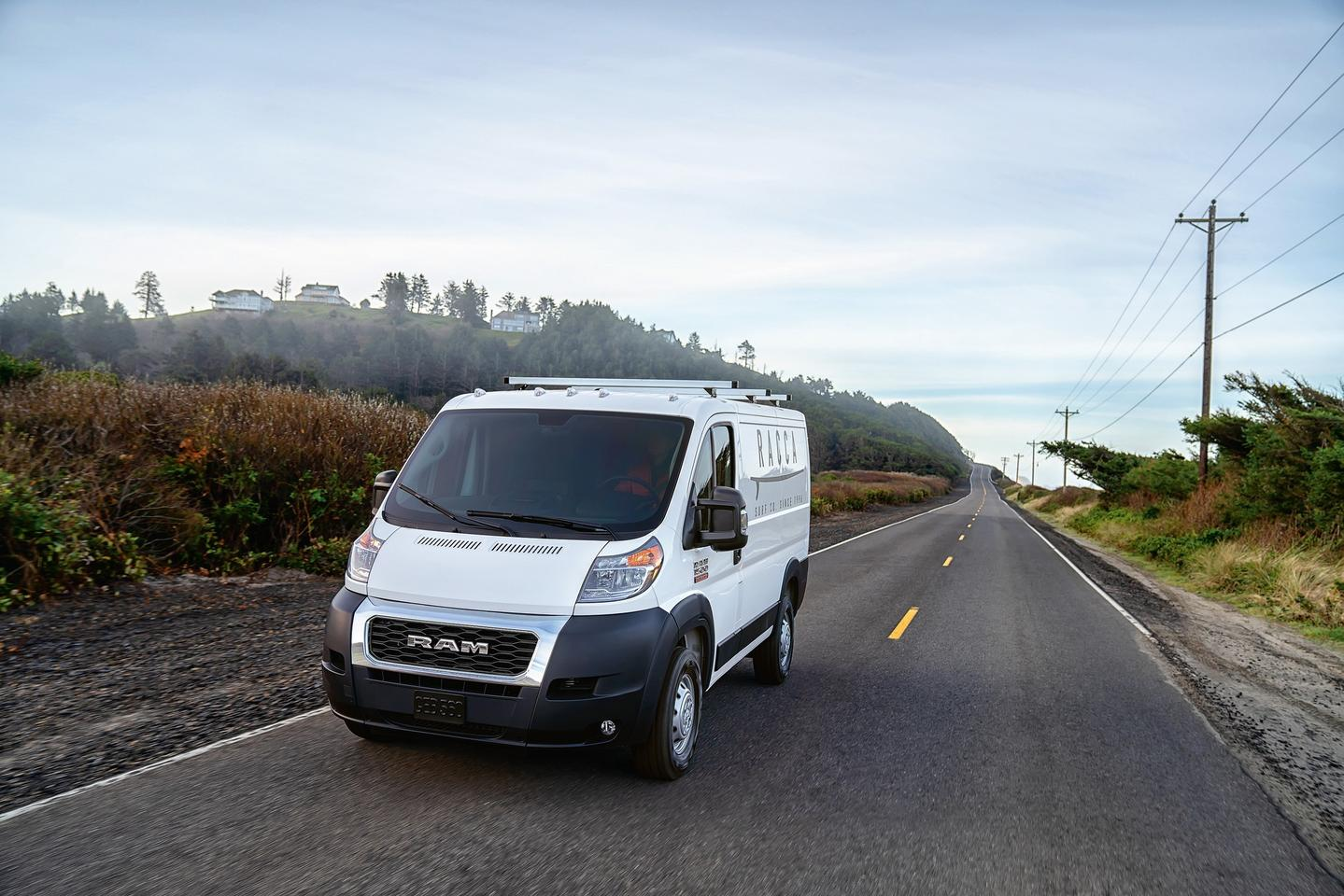 FCA and Waymo will begin work on autonomous Ram ProMaster vans