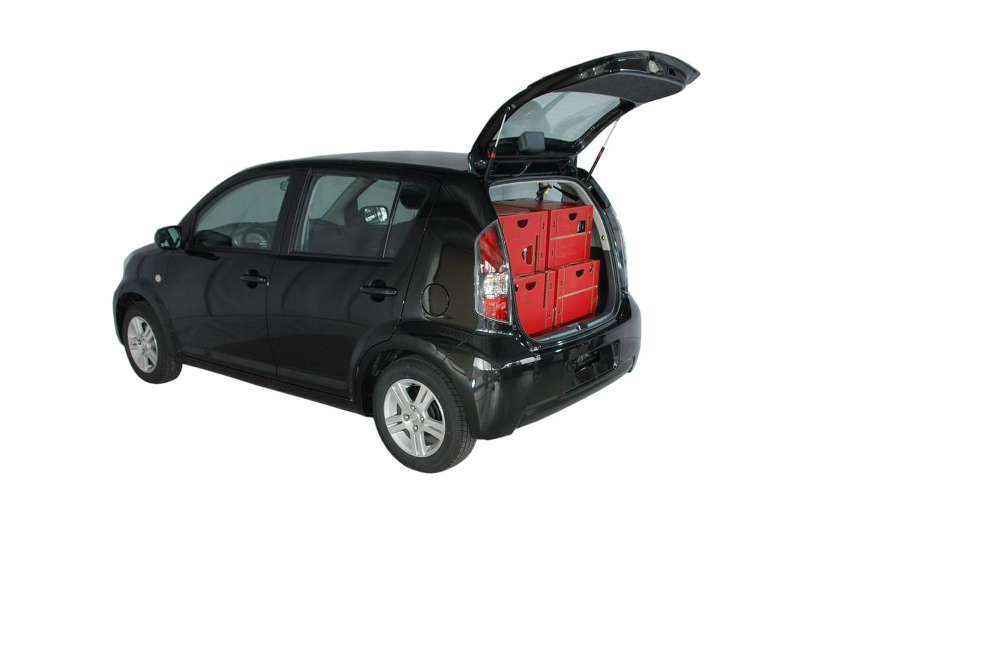 The Swiss Roombox was designed to mount into a car within about 15 minutes