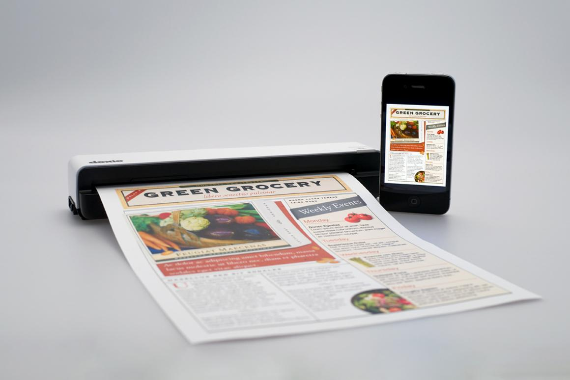 Doxie Go portable scanner - the iPad and iPhone sync kit will set you back an extra US$40