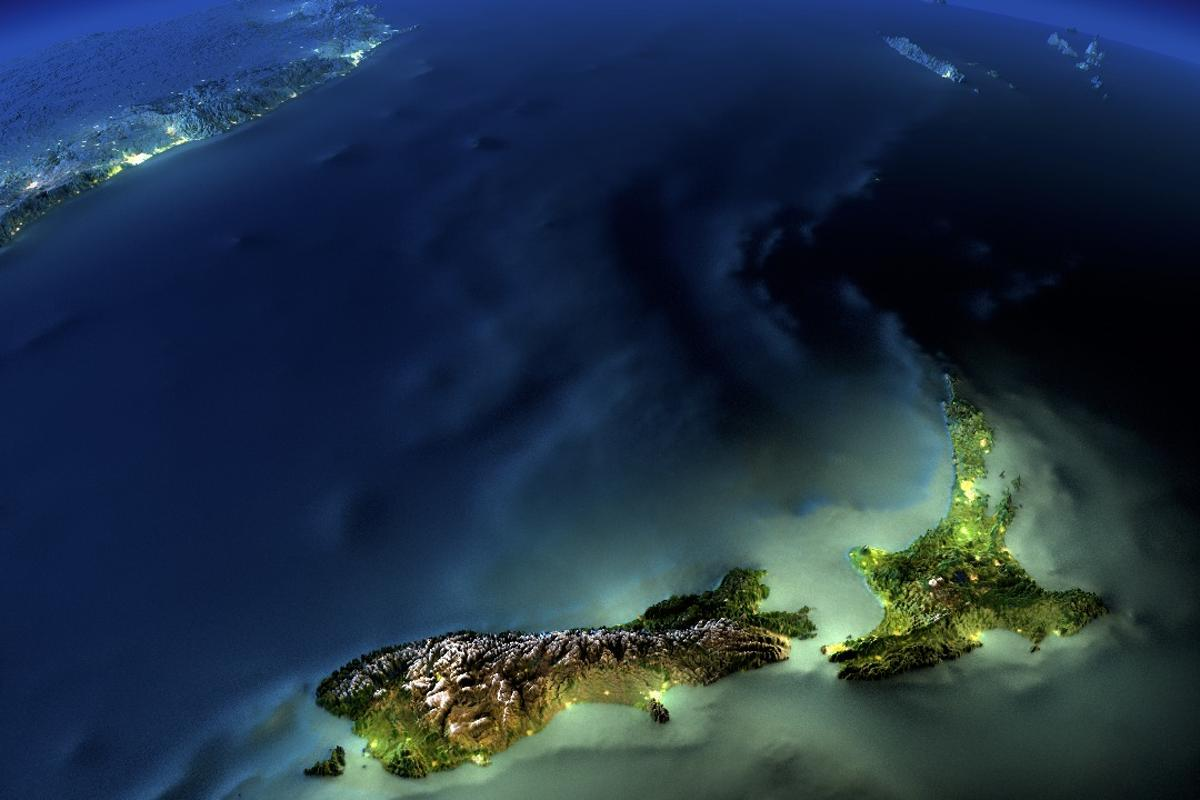 Some scientists claim that New Zealand sits on the continent of Zealandia and not Australia
