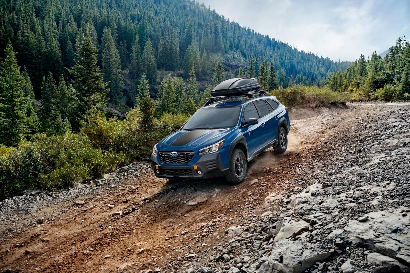 A one-inch lift and several Outlander Wilderness-specific additions are found on this new model from Subaru