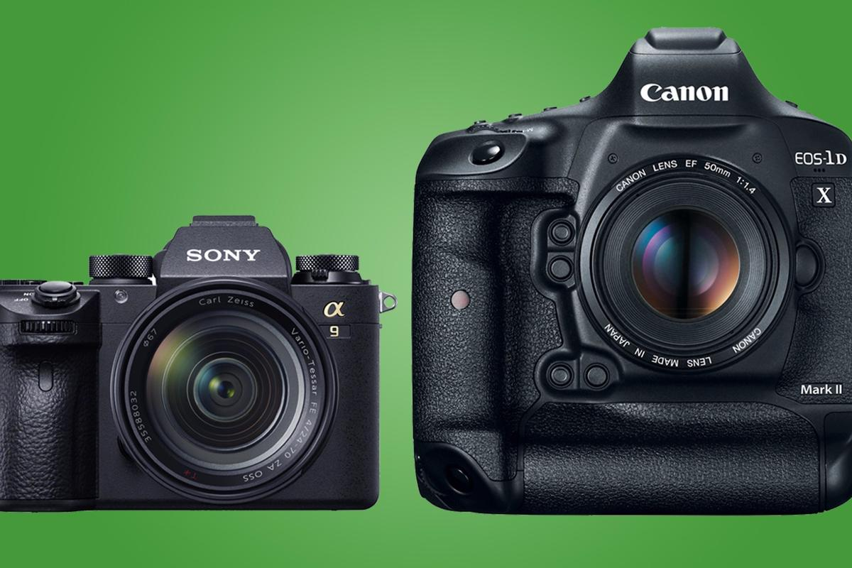 We compare the key specs and features of the Sony A9 and Canon 1DX Mark II