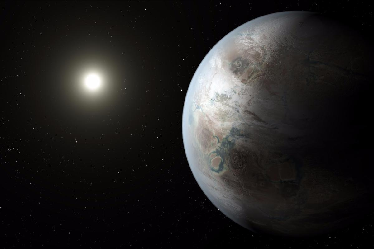 Artist's concept of Kepler-425b