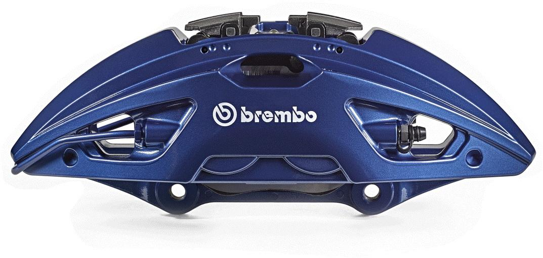 Brembo says its new brake caliper saves 8 percent in weight without affecting stiffness