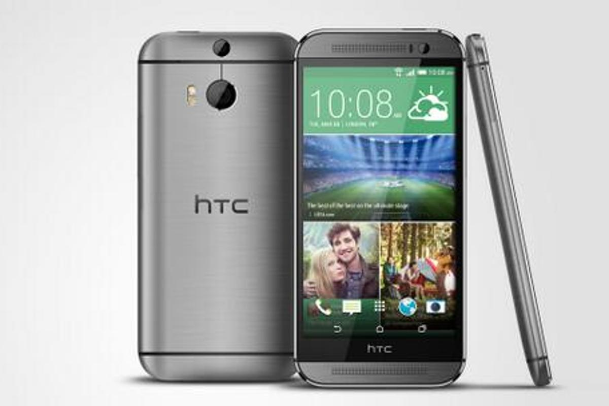 The HTC One M8 is available now in the US and Canada