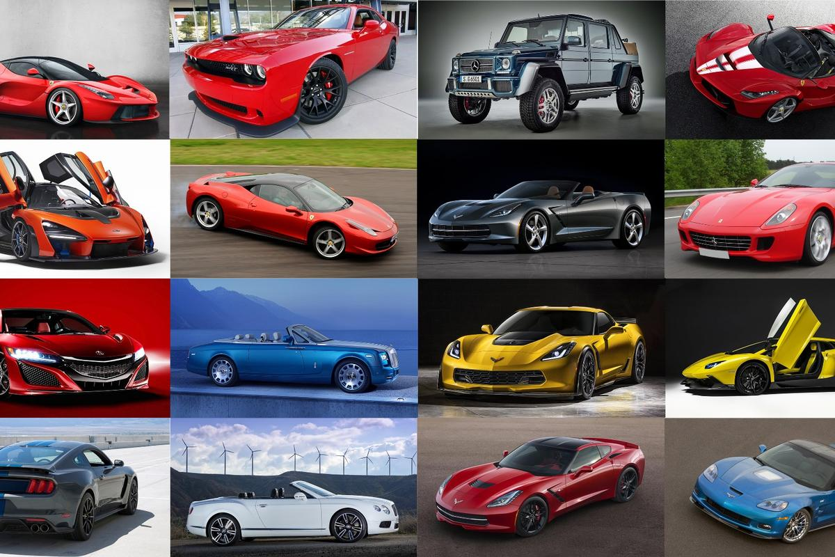 The charity new car auction marketplace is so new that almost all of the cars in our Top 40 list have sold in the last four years, and more than half in the last two years