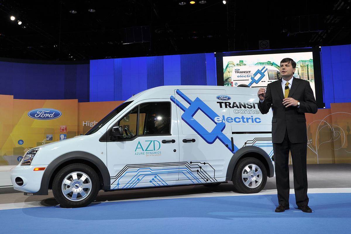 Unveiling the Ford Transit Connect Electric van