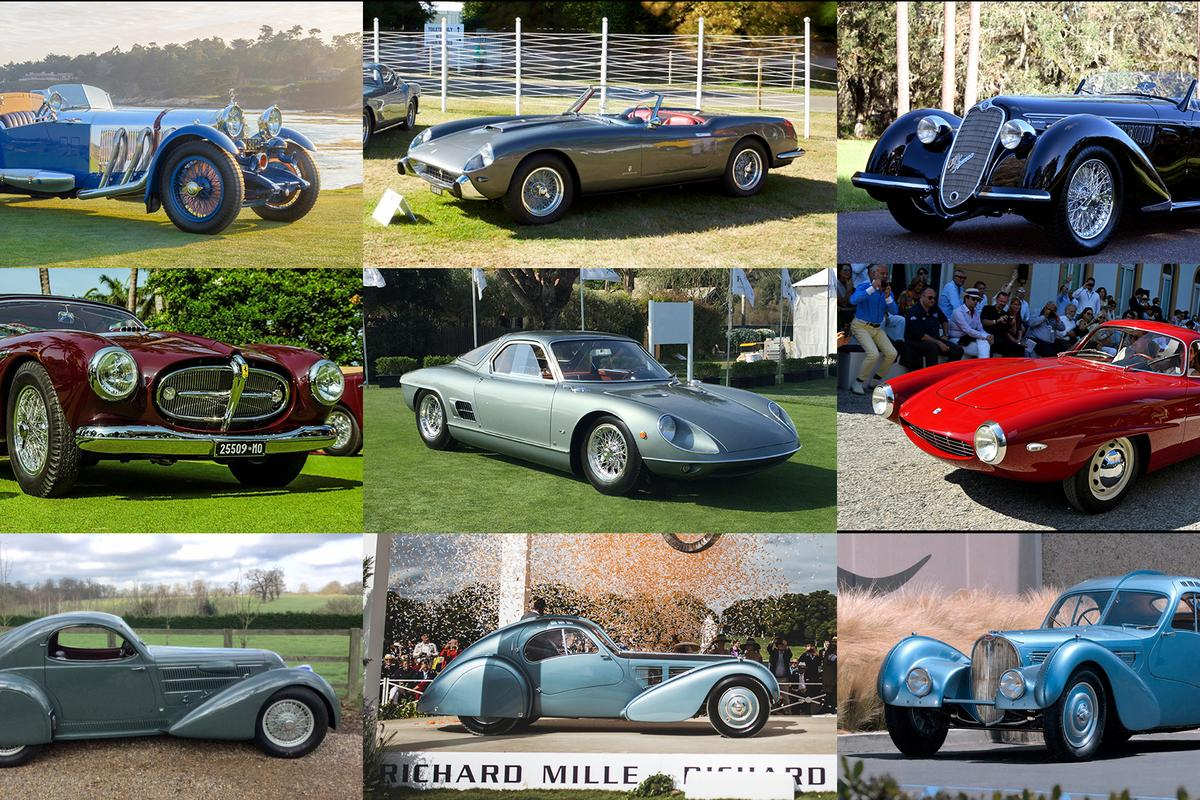 The Peninsula Classics Best of the Best Award will be announced during Rétromobile in Paris on February 8, 2018