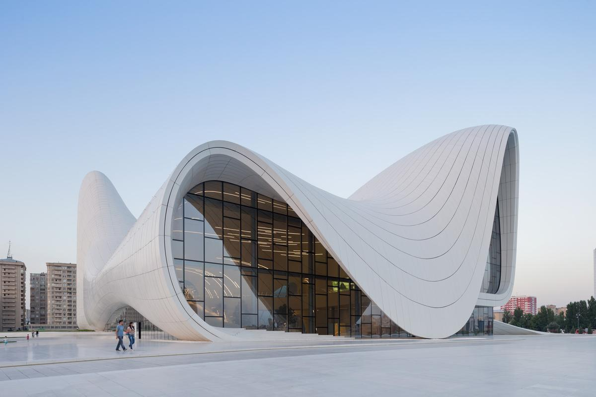 Azerbaijan's Heydar Aliyev Centre is one of Hadid's finest works