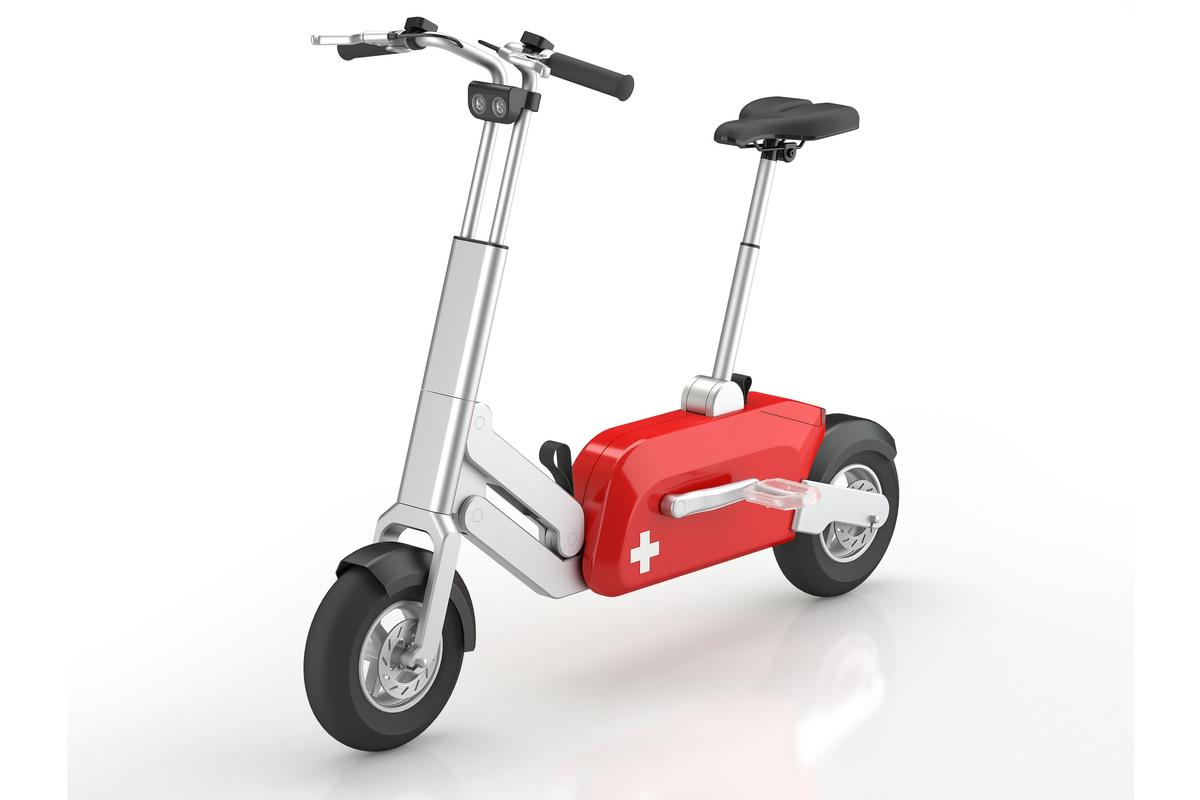 A unique system allows users of the Swiss Voltitude pedelec bike to fold or unfold it in one second, and with only one hand