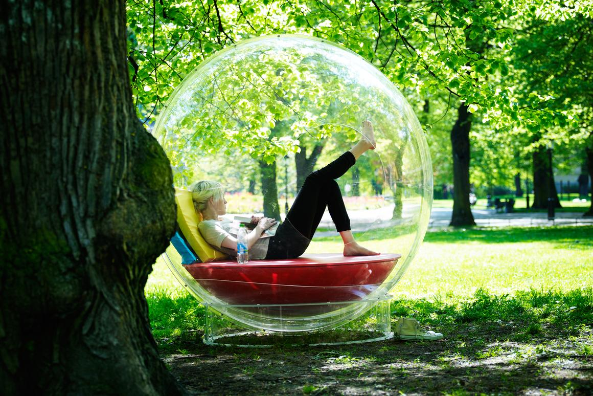 The Cocoon 1 also lets you claim some personal space outdoors