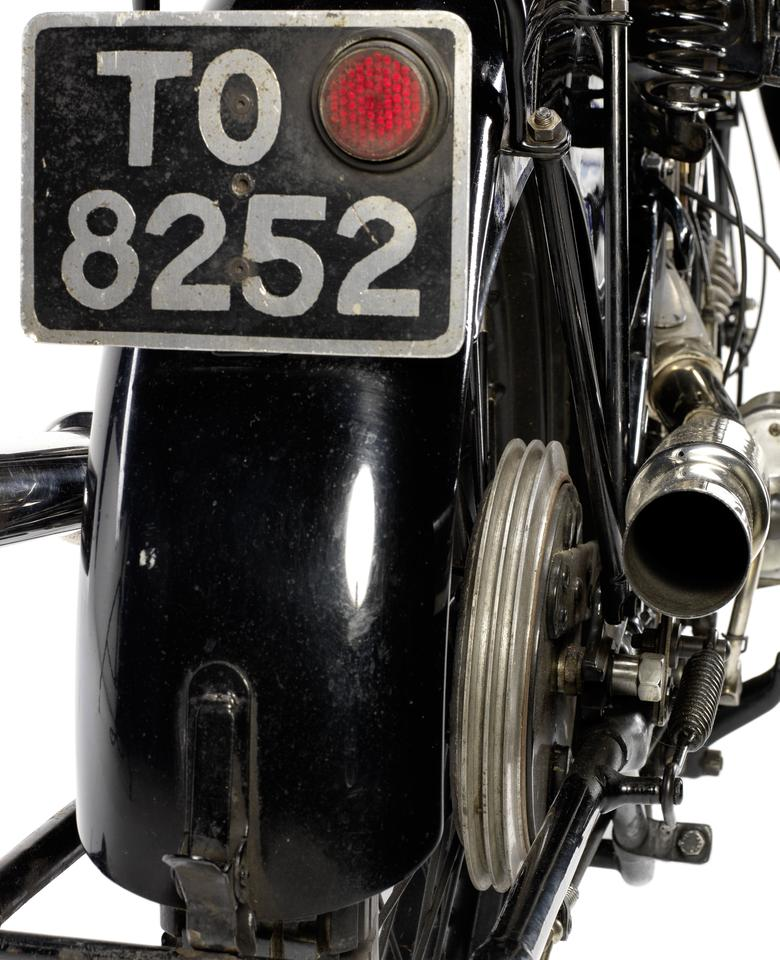 Dick Knight's 1928 SS100 Brough Superior