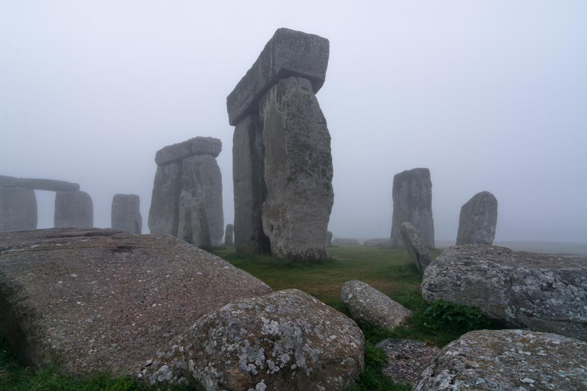 Geophysical survey equipment has been used by researchers to map hundreds of previously unknown features buried at Stonehenge