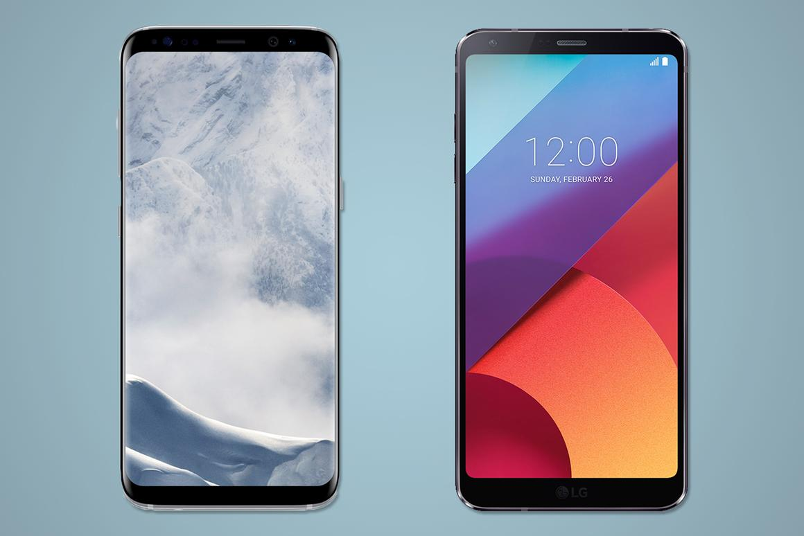 The Samsung Galaxy S8 and the LG G6 are both high-end, nearly bezel-less Androids – here's how they compare