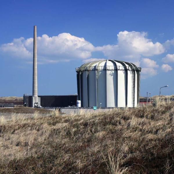 The irradiation tests took place at NRG's Petten nuclear reactor site