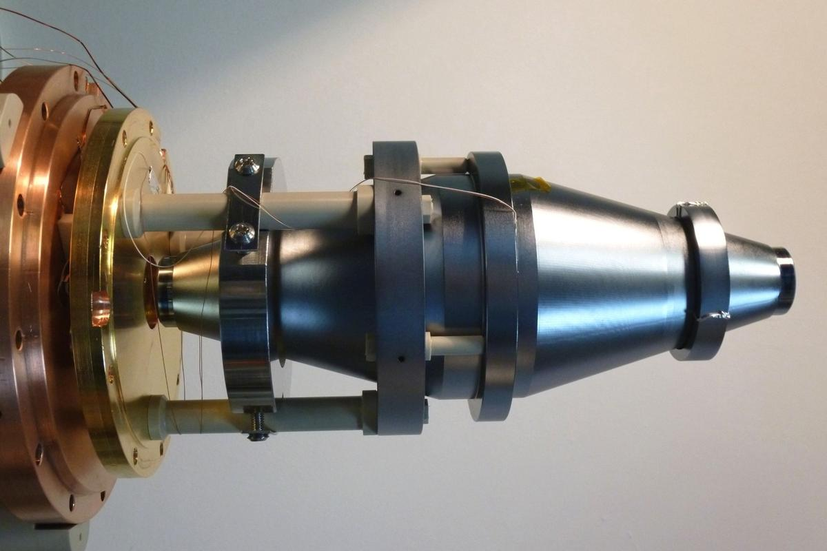 The silicon resonator responsible for producing the world's sharpest laser, with a linewidth of just 10 mHz
