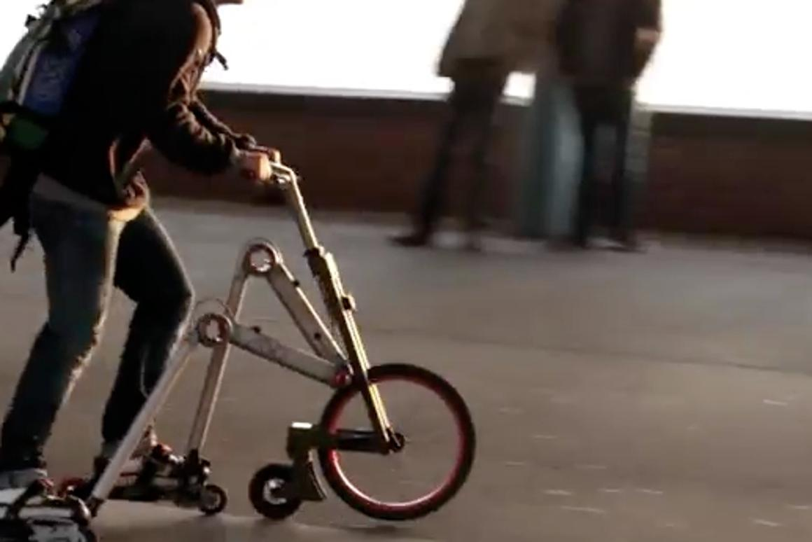The Aeyo scooter from Munich's Aemotics