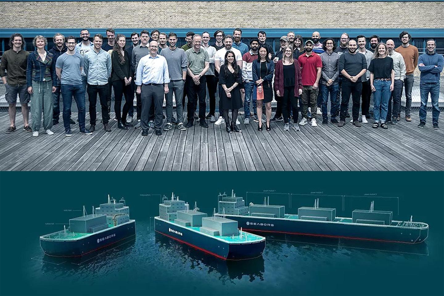 Molten salt nuclear reactors on floating barges, mass-produced in their thousands and deployed super-quickly across the globe: that's the plan for Denmark's Seaborg Technologies