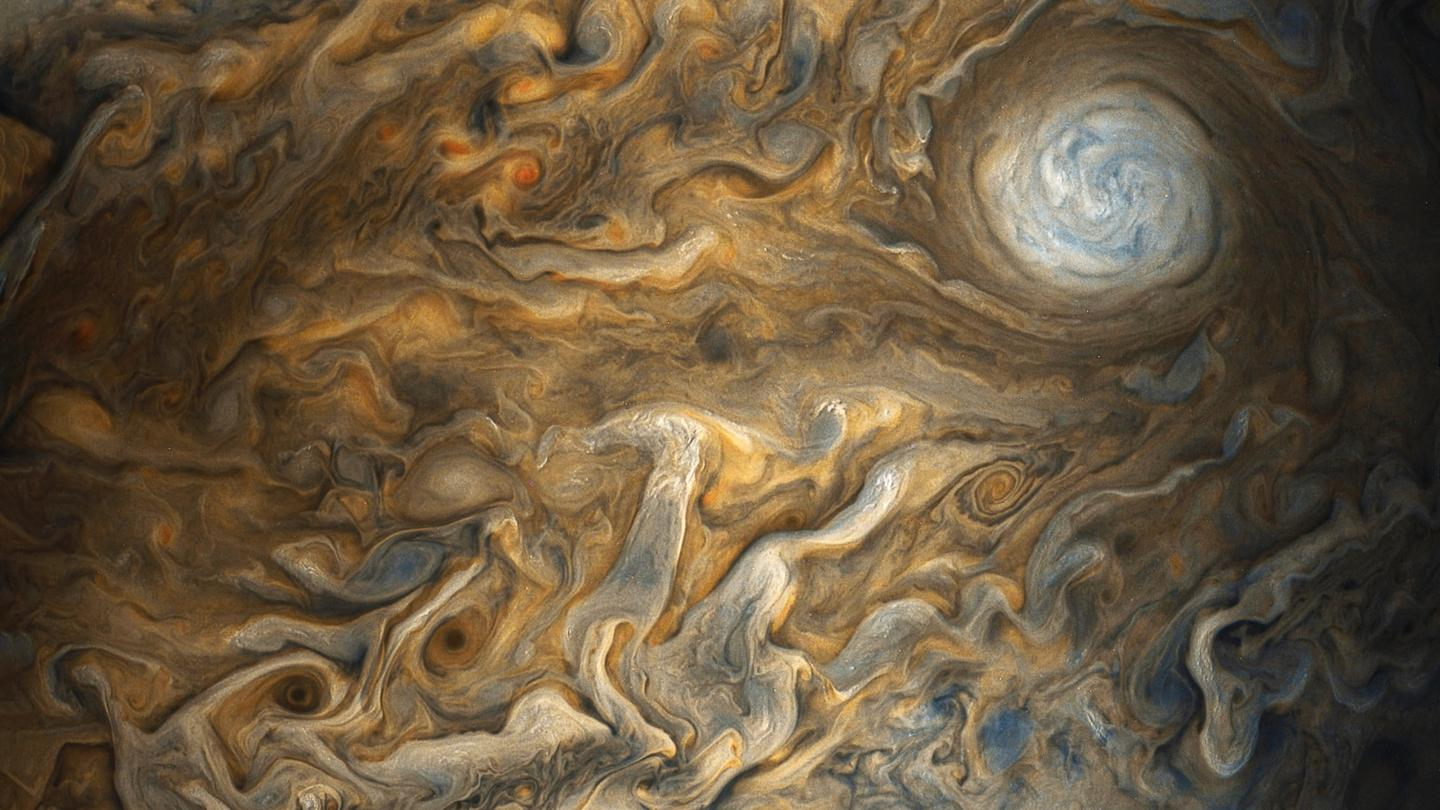 Once every 53 days Juno's orbit takes it closest to Jupiter