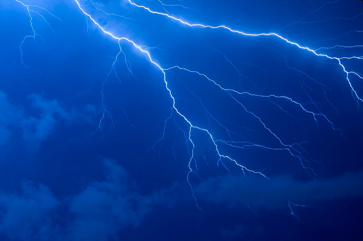 Cosmic rays thrown out by dying stars may have made lightning strikes more common on ancient Earth