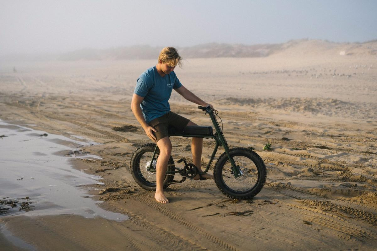 The Super 73 Scout is good for the road, or on sand
