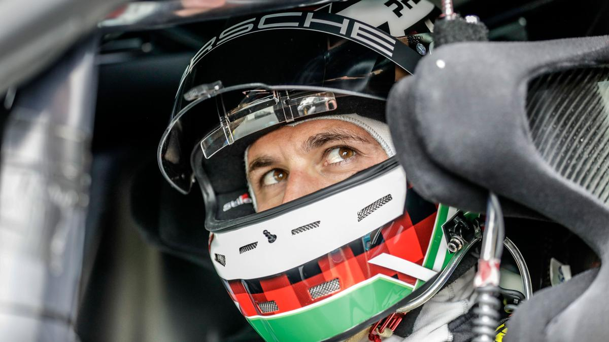 Porsche test driver Lars Kern was behind the wheel as the Taycan cut a Nürburgringlap time of seven minutes and 42 seconds