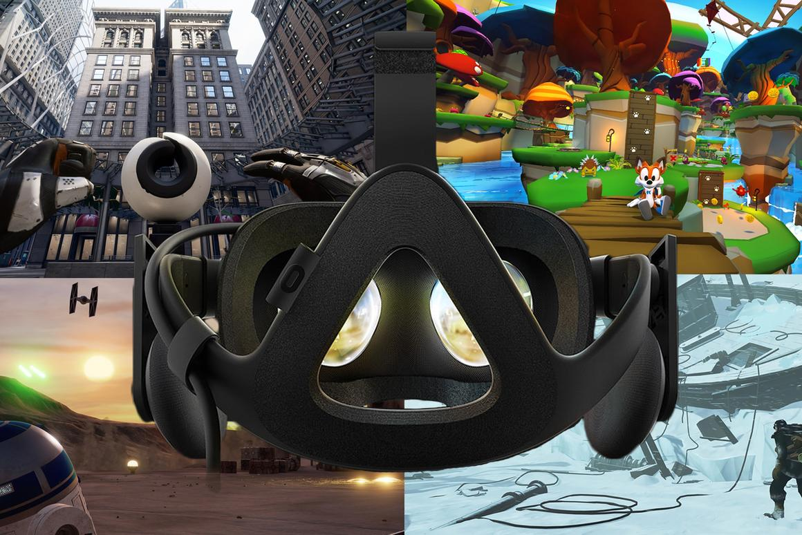 New Atlas rounds up the best VRgames