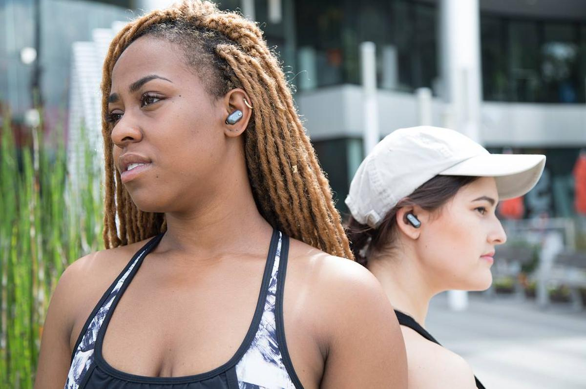 The SoundFlux truly wireless earphones are billed as the first in the world to feature a dual driver design
