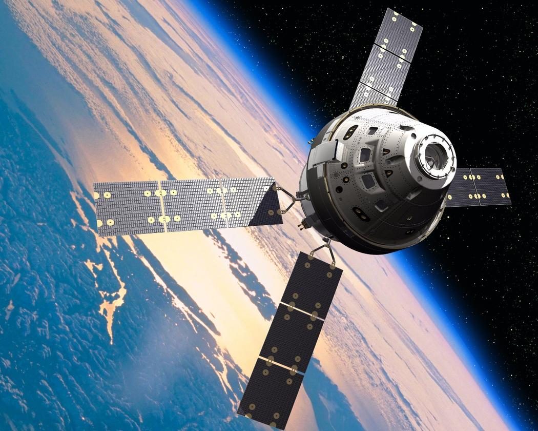 Artist's concept of the Orion spacecraft