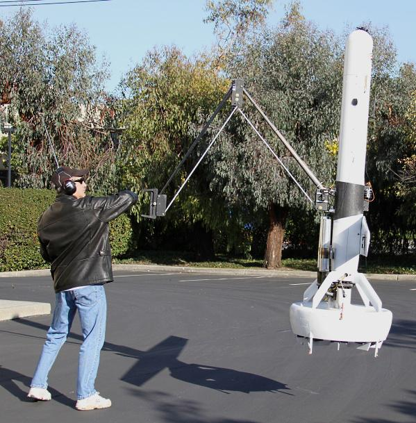 DARPA's arm-equipped V-Bat UAV