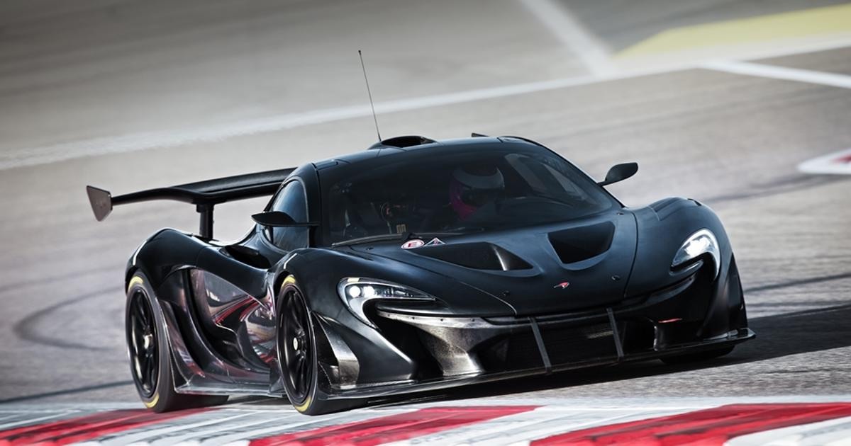 "McLaren releases interior images of ""world's greatest track car to be,"" the P1 GTR"