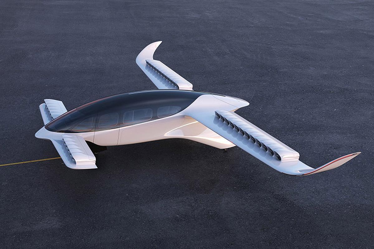Lilium의 7 인승 eVTOL은 최대 175mph의 크루즈 속도와 155 마일 이상의 범위를 제공합니다.