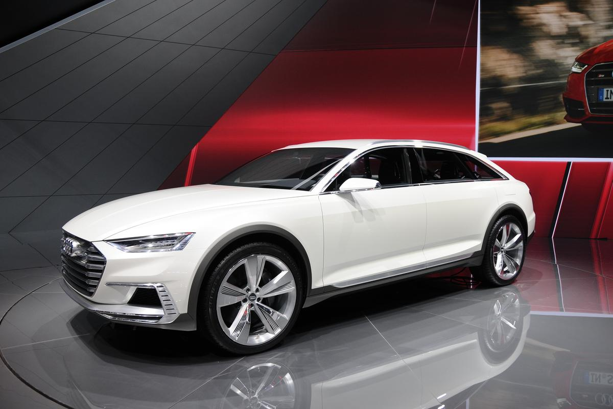 Audi shows its latest Prologue concept in Shanghai