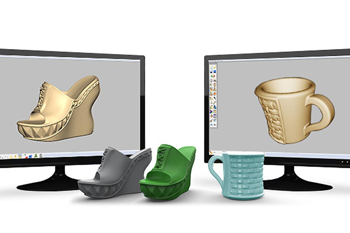 Cubify Sculpt is an new application that lets users create 3D printable designs more naturally