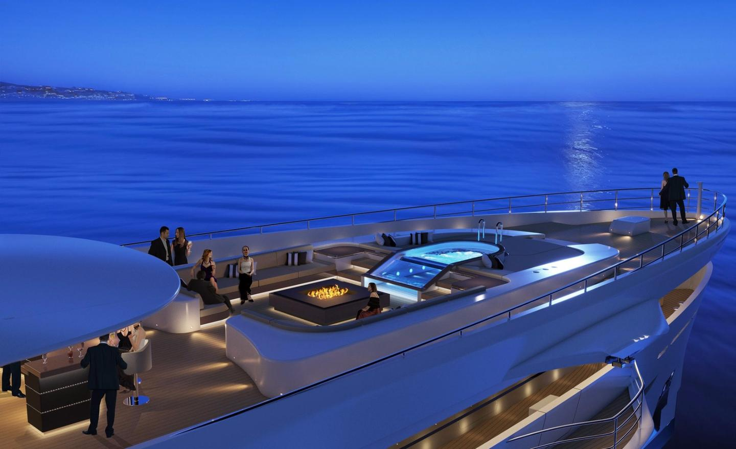 There's little chance of overcrowding on Project Maximus as it carries a maximum 12 guests