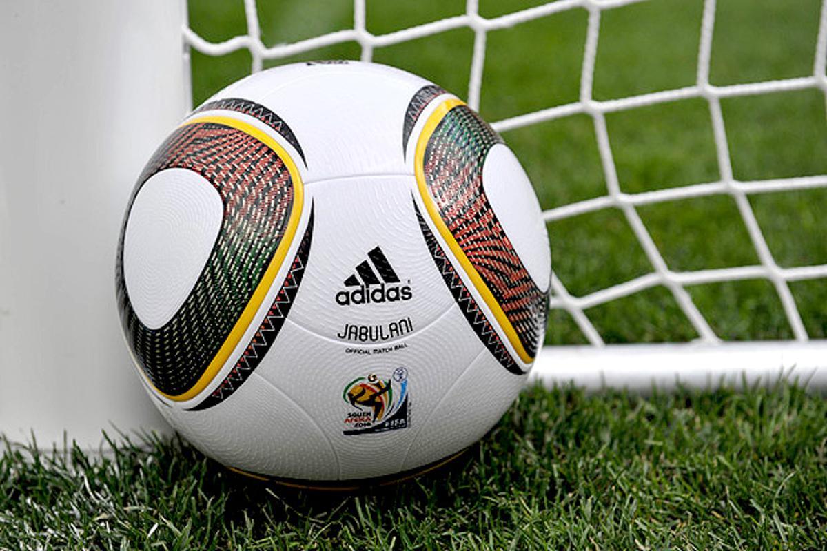 The Adidas Jabulani, official ball of the 2010 FIFA World Cup (Photo: University of Adelaide)