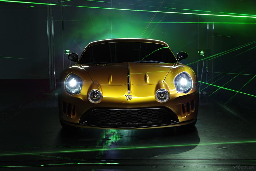 A twin-turbo six-cylinder engine is powering the new Interlagos