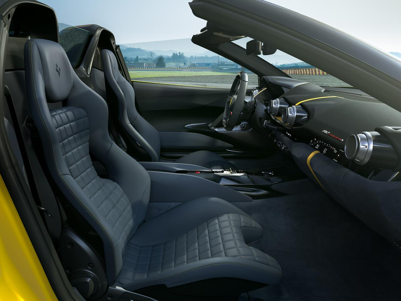 A look inside Ferrari's new 812 Competizione