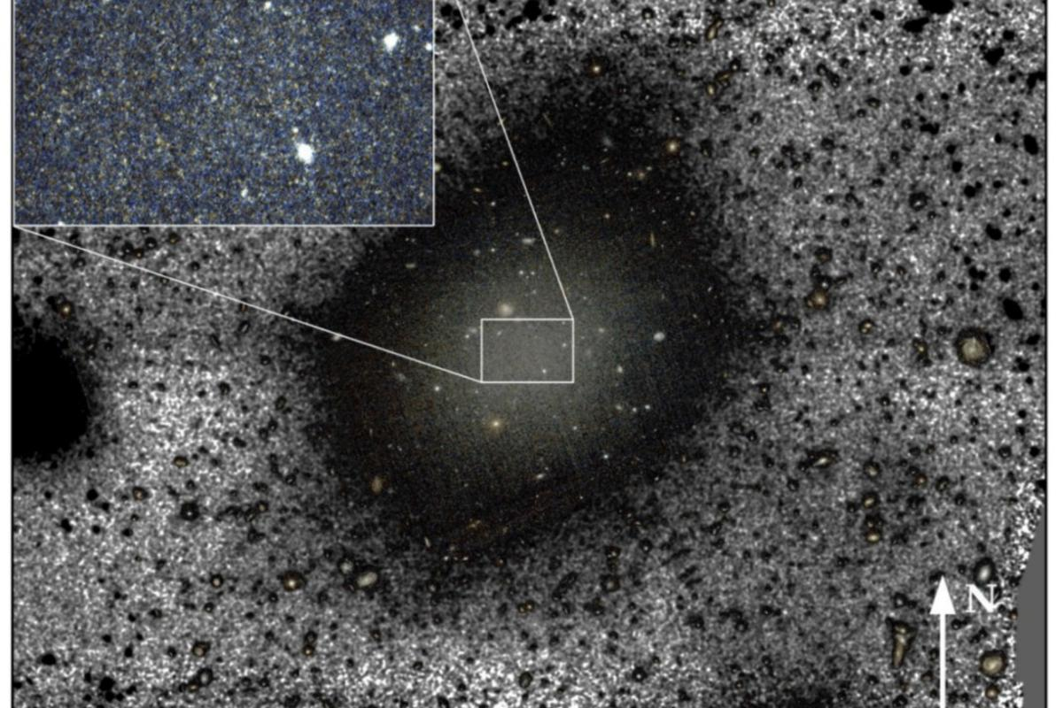 The ultra-diffuse galaxy NGC1052-DF2 was previously thought to contain very little dark matter – but a new study says it's not so special after all