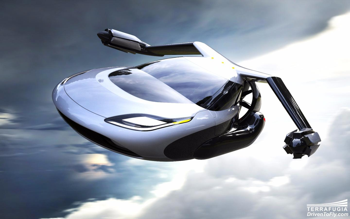 In cruise mode, the main 300 hp engine of the TF-X provides thrust and charges the batteries