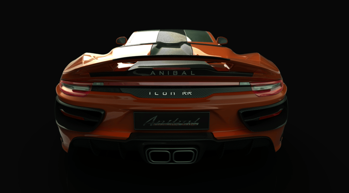 The rear of the Anibal Icon is definitely based on that of a Porsche