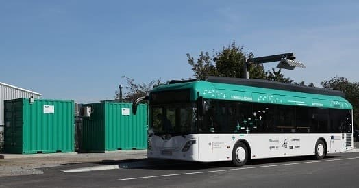 Drivers of EDDA buses will be able to use designated stops on their routes, that are equipped with high-capacity charging stations